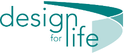 Design for life logo